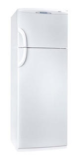 Heladera Columbia 2334/H blanca con freezer 317L 220V