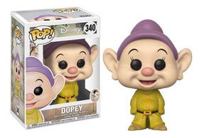 Dopy Anão Dunga - Branca De Neve 80 Anos Pop Funko 340