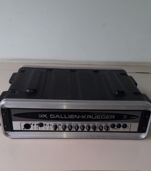 Cabeçote Gk Gallien Krueger 400rb-iv Baixo + Case Skb