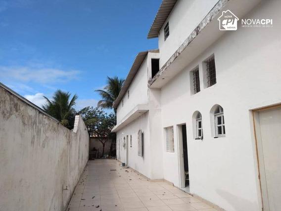 Galpão Para Alugar, 250 M² Por R$ 4.900,00/mês - Aviação - Praia Grande/sp - Ga0015