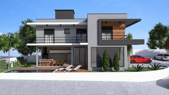 Casa Para Venda No Condomínio Terras De Atibaia I Em Atibaia - Ca104