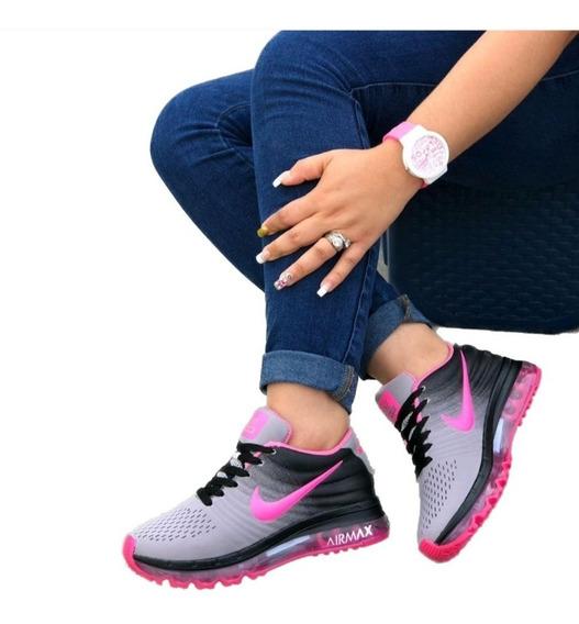 Tenis Nike Negros Con Fucsia - Ropa y Accesorios en Mercado ...