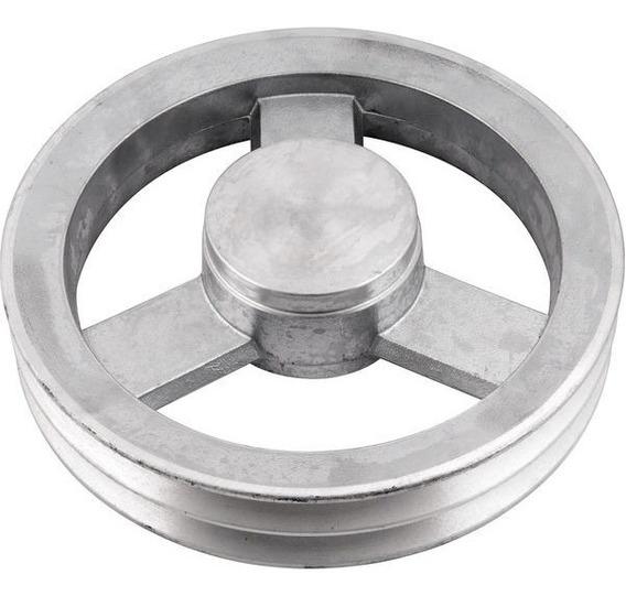 Polia De Alumínio 2 Canais B 230 Mm Vonder