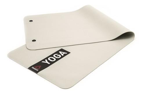 Colchoneta Yoga Mat 4mm Blanca Reebok Supergym