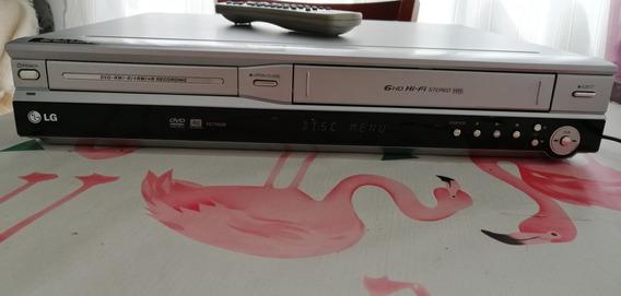Combo Lg Rc7000b Gravador Dvd + Video Cassete Hi-fi Stereo