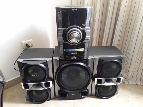Equipo De Sonido Sony Modelo Genezy Mhc-gt555