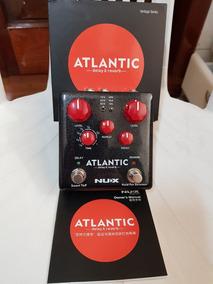 Pedal Nux Atlantic Ndr-5 Delay, Reverb E Shimmer - Zeradao!!