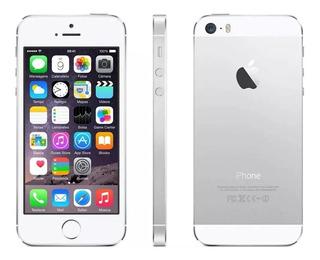 iPhone 5s 16gb Prata Desbloq. Câmera 8mp 4g E Wi-fi - Apple