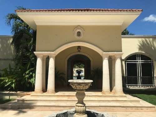 Residencia De Lujo En Montes De Amé, En Mérida, Yucatán.