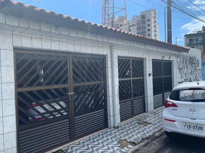 Casa Isolada 2 Dormitórios Edicula Revertida - Tupi - V591
