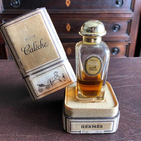 Antigo Raro Frasco De Perfume Francês Caléche By Hermès