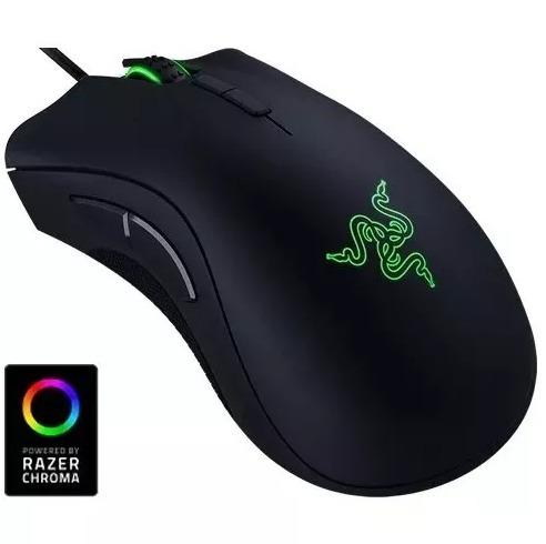 Mouse Razer Deathadder Elite Chroma 16000dpi Usb 7 Botões