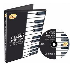 Curso Piano Nível Zero Volume 1 Em Dvd