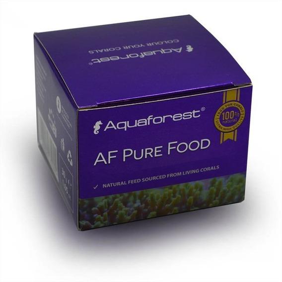 Aquaforest Af Pure Food 30g Alimenta Corais E Equilíbrio Ph