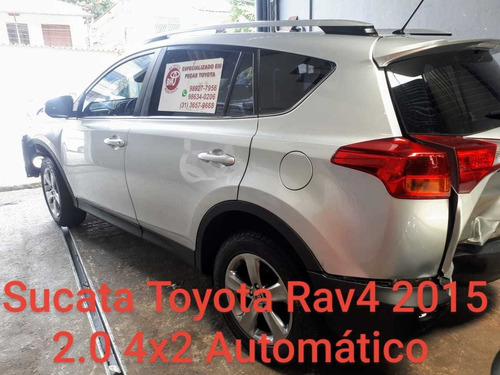 Sucata Toyota Rav4 2.0 4x2 2015 Automática