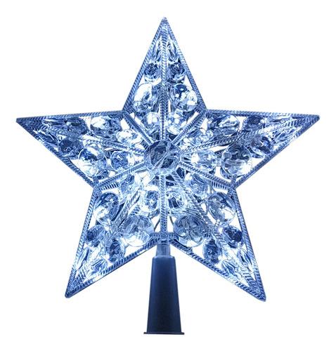 Estrella Punta Árboles Navidad 32 Leds Blanco Frío Ml974