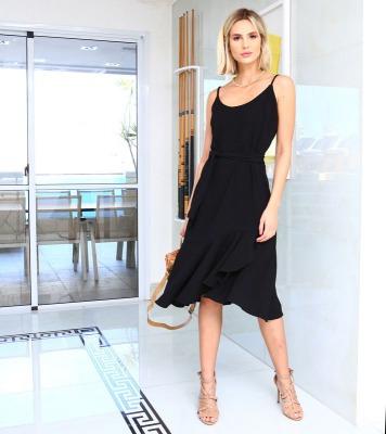 Vestido Boutique Negro Lindo
