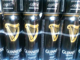 Cerveza Guinness Draught,importada Irlanda,x Ferro