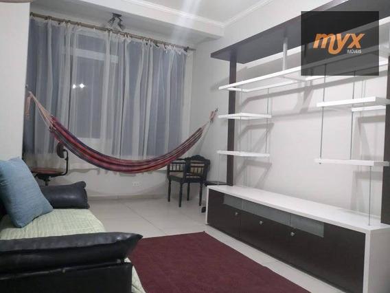 Apartamento Com 2 Dormitórios Para Alugar, 78 M² Por R$ 2.700,00/mês - Gonzaga - Santos/sp - Ap4404
