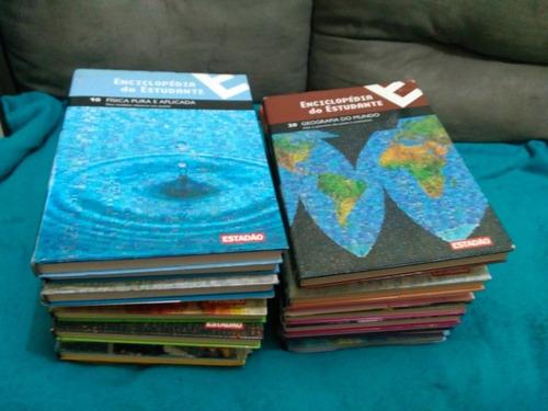 Enciclopédia Do Estudante, Estadão 19 Volumes