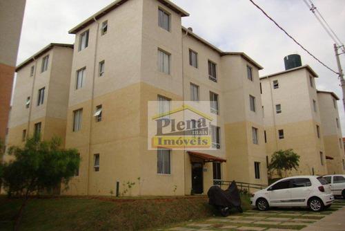 Imagem 1 de 1 de Apartamento Com 3 Dormitórios À Venda, 50 M²  - Vila São Francisco - Hortolândia/sp - Ap1088