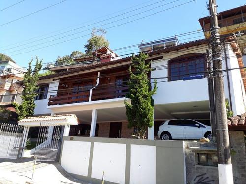 Imagem 1 de 15 de Casa Para Venda Em Teresópolis, Granja Guarany, 3 Dormitórios, 1 Suíte, 1 Banheiro, 2 Vagas - C-549_2-1217589