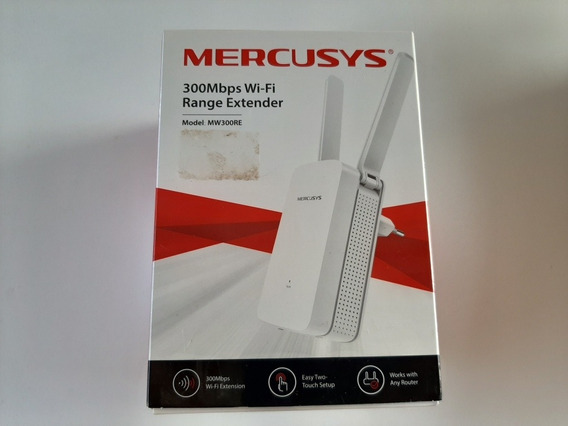 Repetidor Mercusys Wireless 300mbps 2 Ant - Mw300re