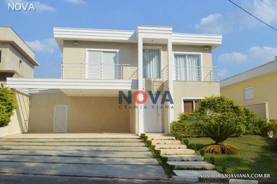 Casa Com 4 Suítes À Venda, 380 M² Por R$ 1.600.000 - Beverly Hills - Jandira/sp - Ca1859