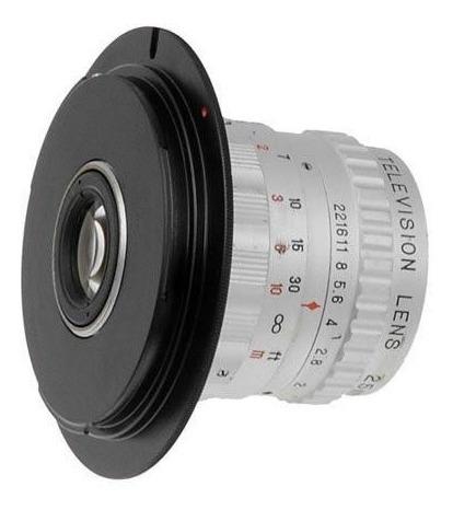 C-mount Para Câmera Canon Eos Ef