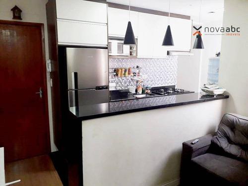 Cobertura Com 2 Dormitórios À Venda, 48 M² Por R$ 350.000,00 - Parque Das Nações - Santo André/sp - Co1154