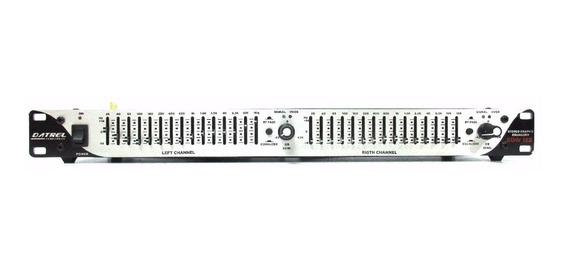 Equalizador Gráfico Stereo 15 Bandas Datrel Eqw152 Nf Full