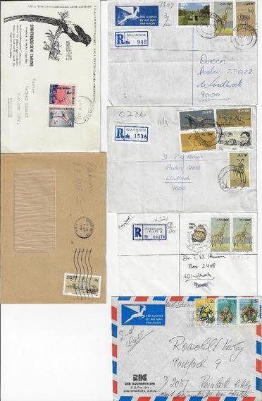 África Do Sudoeste 1948/1996 - 23 Peças Filatélicas