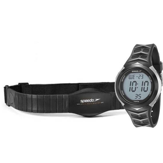 Relógio Speedo Masculino Ref: 80621g0evnp2 Monitor Cardíaco