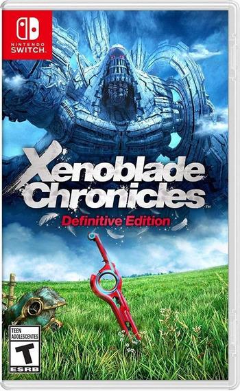 Xenoblade Chronicles Definitive Edition Switch Mídia Física