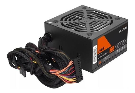 Fuente PC ATX LNZ SX650-FS SX Series 115V/230V negra