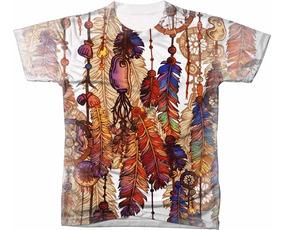 Camisa Camiseta Indio Indigna Coka Cocar Elementos 2
