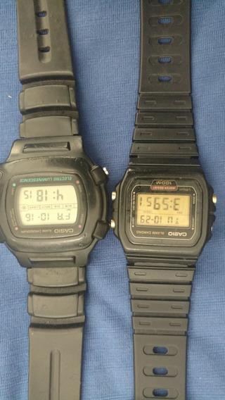 Dois Relógios Casio Antigos