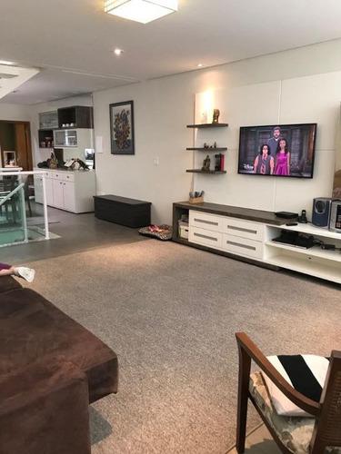 Sobrado Com 3 Dormitórios À Venda, 334 M² - Vila Scarpelli - Santo André/sp - So20181