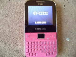 Celular Samsung Gt-c3222 Chat Rosa Dual Chip