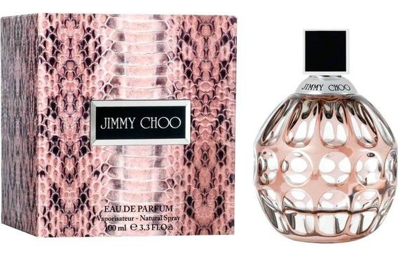 Perfume Jimmy Choo Feminino Eau De Parfum 100 Ml - Lacrado