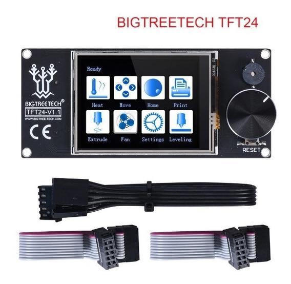 Display 2 In 1 Impressora 3d Touch Tft24 Colorida E 12864