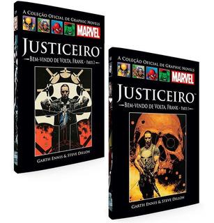 Hq Marvel Justiceiro Bem-vindo De Volta Salvat Capa Preta