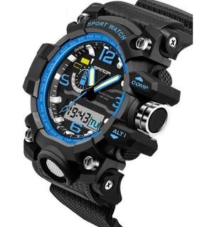 Reloj Robusto Militar Deportivo Extremo Sanda 5 Color Oferta