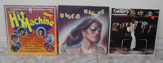 Hit Machine-disco Nights-gallery-3 Lps(colecionador-mg)