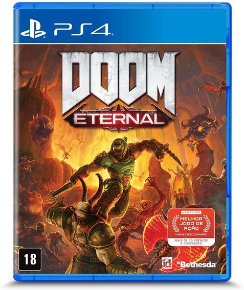 Doom Eternal Ps4 Midia Fisica Novo - Lacrado - Em Português