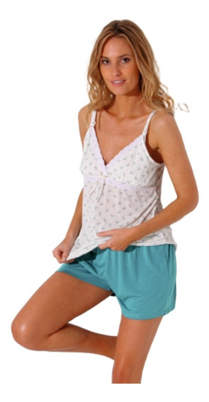 Pijama Maternal Amamantar Futura Mamá Varios Modelos