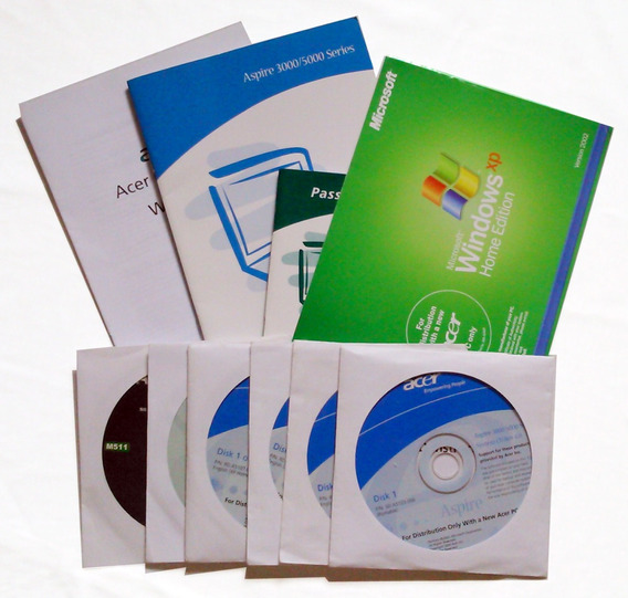 Manuais Instalacao Cd Recovey Notebook Acer 3000/5000 Ingles