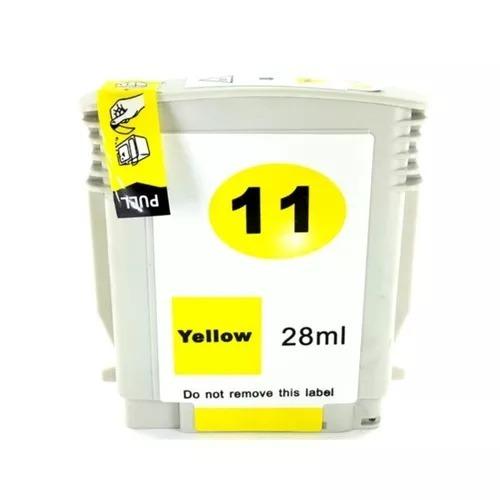 Cartucho De Tinta Hp 11 C4838a - Amarelo - Compatível
