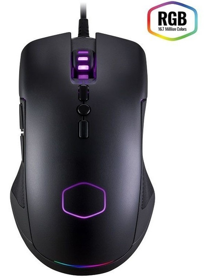 Mouse Gamer Cm310 - Pixart A3325 (10000 Dpi) - Rgb - Cm-310-kkwo2 - Cooler Master