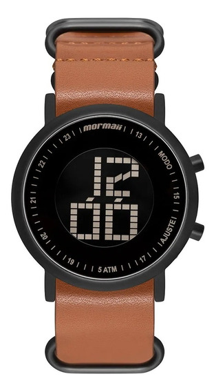 Relógio Mormaii Unissex Vibe Pulseira Couro Mobjt003ac/2m